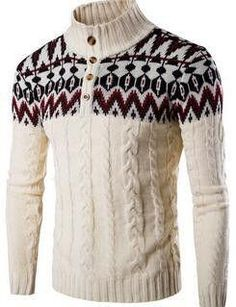men's Hedging sweater