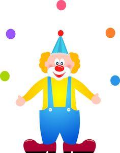 Palhaço circo Montando a minha festa