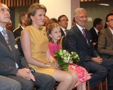 Mathilde And Philippe Of Belgium Visit Gent