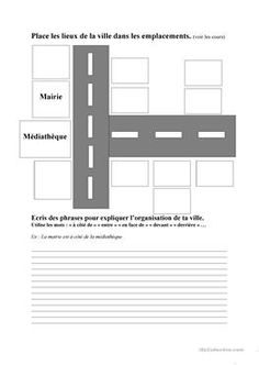 Lieux de la ville et préposition de lieu