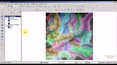 QGIS 2.8 tutorial: Hydrological analysis with GRASS plugin