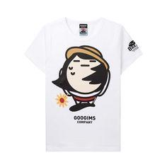 구김스 071 캐릭터 반팔 티셔츠 (G11MMRT409_01)