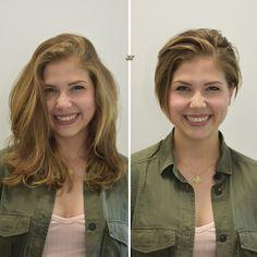 Pixie Cut by Jesse Wyatt #hair #haircut #pixie #beforeandafterhair #jessewyatt