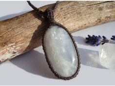 Calcite Necklace/Divine by GaiasGiftsToUs on Etsy
