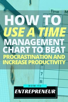 If you're struggling with stabilizing your productivity, check out this article to see how you can use a time management chart to beat procrastination and increase productivity.