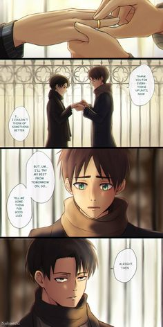 Attack on titan has turned into Eren on ice. Love it