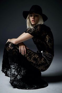FELT HATS AND LACE
