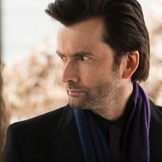 """David Tennant's Dr. Zebediah Kilgrave/The Purple Man is more literally purple in the comics. 