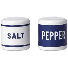 kate spade new york Order's Up Salt & Pepper Set ($25) ❤ liked on Polyvore featuring home, kitchen & dining, serveware, no color, kate spade dishes and kate spade