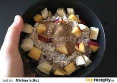 Oatmeal, Yummy Food, Breakfast, Food Ideas, The Oatmeal, Morning Coffee, Delicious Food, Rolled Oats, Overnight Oatmeal