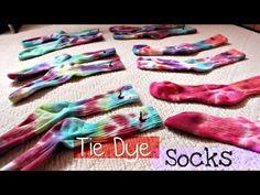 DIY | Tie Dye Nike Dri-Fit Socks - YouTube