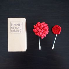Handmade Lapel Pin: Handsome Little Thing - Hommes: Men's Style, Luxury & Product Design Little Things, Lapel Pins, Bobby Pins, Handsome, Hair Accessories, Mens Fashion, Design, Style, Moda Masculina
