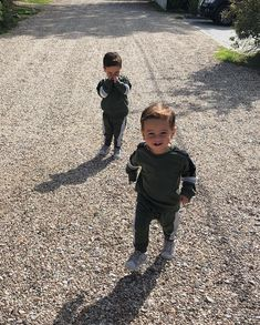Proper boys pick up every stone or stick in sight making our walks take that little bit longer! 🍂🍃🐌 as long as their happy I'm happy! Enjoy the weekend everyone x x x Twin Baby Girls, Twin Babies, Baby Kids, Cute Family, Family Goals, Cute Twins, Cute Babies, Beautiful Children, Beautiful Babies