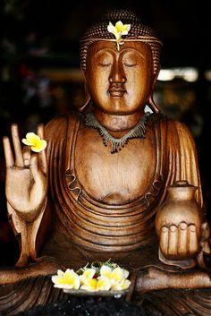 Buddha in Bali, Indonesia.