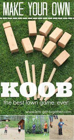DIY Koob   15 DIY Outdoor Family Games