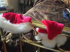 Santa hats make you feel so welcome!