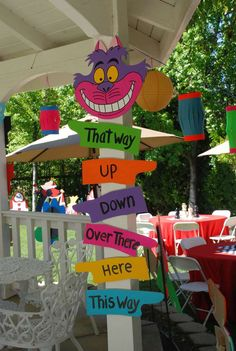 Alice in Wonderland, Mad Tea Party Birthday Party Ideas   Photo 4 of 53   Catch My Party