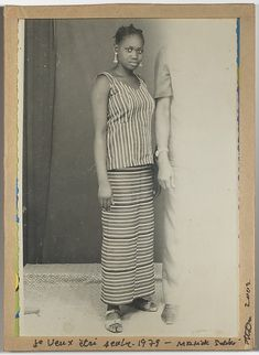 Je veux être seule- I want to be alone- photographer: Malick Sidibe-1979- Met exhibit NY 2015