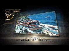 Découvrez le Admiral Grand Hotel à Dubrovnik - YouTube