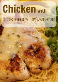 Veal Scaloppine With Lemon Cream Sauce Recipe — Dishmaps
