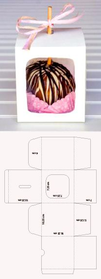 Dessert Packaging, Box Packaging, Hand Crafts For Kids, Emoji Coloring Pages, Farm Animal Crafts, Apple Boxes, Cool Paper Crafts, Printable Box, Party In A Box