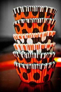 Halloween cupcake liners by Meri Meri