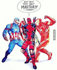 Wrong movie Deadpool