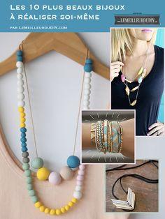 Le TOP 10 des DIY Bijoux, colliers et bracelets - Le Meilleur du DIY