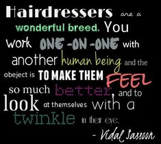 hairdresser quotes - Google Search