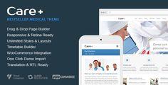 Care v4.6.2 – Medical and Health Blogging WordPress Theme