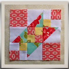 Threadbare Creations: Chatelaine- Free BOW Sampler Quilt Block 2