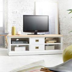 Cream Wooden TV Cabinet - Rural Chic   Dream house   Pinterest ...