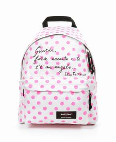Elio Fiorucci x Eastpak collaboration for Artist Studio. Designers against AIDS. Backpack Padded Pak'r. 2014