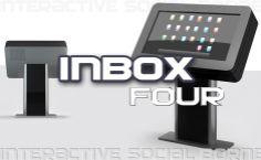INBOX four pupitre, borne tactile interactive