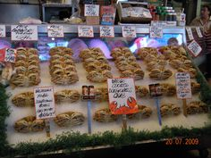Seattle - Dungeness Crab at Pike Place Fish Market