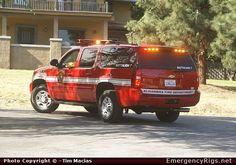 ChevroletSuburbanCommandAlhambra Fire DepartmentEmergency Apparatus Fire Truck Photo