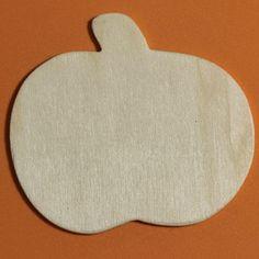 Unfinished Wood Pumpkin Cutout