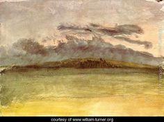 Storm-Clouds: Sunset - Joseph Mallord William Turner - www.william-turner.org