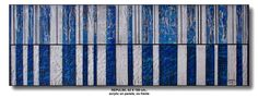REPULSE,  62 X 180 cm., acrylic on panel