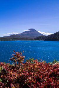 Mount Fuji Japan at Motosu Lake