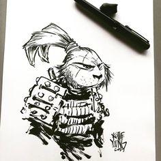 Usagi Yojimbo #ink #sketch #dailysketch