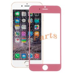 Apple iPhone 6 Front Screen Outer Glass Lens(Pink) http://www.laimarket.com/apple-iphone-6-front-screen-outer-glass-lenspink-p-3036.html
