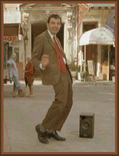 Tyson does this when he dances. I swear he is a bean jr.
