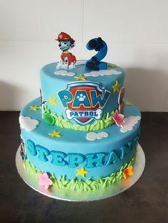 Paw Patrol Cake La Patrulla Canina Pinterest Paw Cakes And - 35th birthday cake ideas