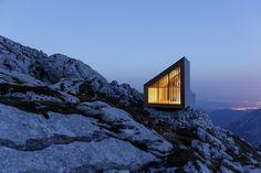 Alpine Shelter Skuta / OFIS arhitekti + AKT II + Harvard GSD Students - Skuta, Slovenia