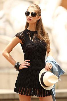 Ravelry: Vestido preto pattern by Silvana Costa
