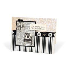Sizzix.co.uk - Sizzix Framelits Die Set 7PK w/Stamps - Chandeliers