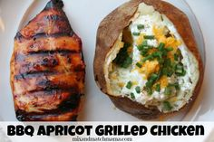 Bbq Apricot Grilled Chicken Recipe | Mix and Match Mama Mama Recipe, Recipe Mix, Apricot Chicken, Grilled Chicken Recipes, Whole Food Recipes, Yummy Recipes, Dinner Recipes, Dinner Dishes, Yummy Yummy