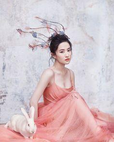 Rococo — wandering-songstress:    LIU YIFEI for HARPER'S...