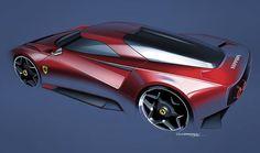 Ferrari homage concept #car #ferrari #cardesign #design #digital #art #industrialdesign #sketch #drawing #concept #sportscar #sportscars #carrendering #carconcept #cardesigner #cardesigncommunity #exterior #vintage #photoshop #cool #illustration #carporn #rendering #cool #lines #modern #render #graphicdesign #artwork